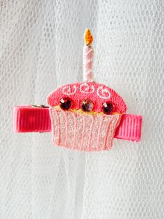 Cupcake Clip - $8.00