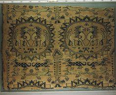 Sassanian silk lions, V Museum, London by julianna.lees, via Flickr