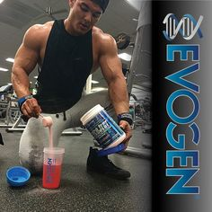 #EvogenElite Offseason Physique Olympia @jeremy_buendia fueling his #gainz   Repost from #JeremyBuendia, #Glycoject my go to during offseason! I take 1.5 scoops during my workout to help replenish my muscle glycogen so I can keep my pump to end of my workout! I also do 1.5 scoops post workout right before my post workout meal to give me an insulin #teamEVOGEN