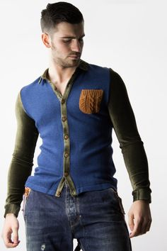 Knitted Shirt Originals for men by James Calehan. | www.differio.com