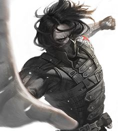 Winter Soldier by Aiden Chuo