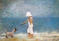 Heide Dahl, Junge mit dem Hund