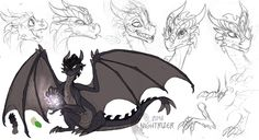 Darkwings concept by Nightrizer.#dragons deviantart.com on @DeviantArt