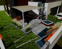 Projekt nowoczesnego ogrodu - Architekci krajobrazu