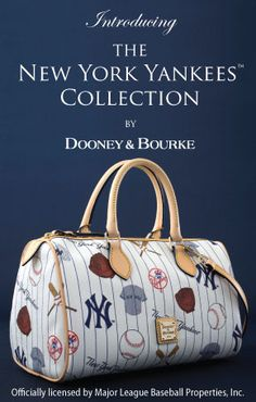 BATTER UP! Introducing our latest collection for the beloved New York Yankees™. Perfect to show off the pride for your team. Shop it now at : http://www.dooney.com/OA_HTML/ibeCCtpSctDspRte.jsp?section=66403=10020=22372