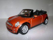 Mini Cabrio 1/24 modelcar24´s Webseite!