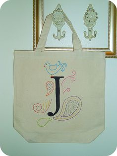 painting on canvas bags