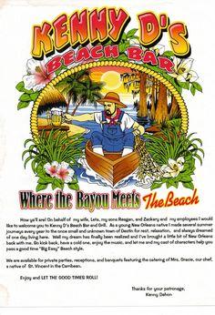 Kenny D's Beach Bar & Grill - 850-650-07552964 Scenic Gulf Drive, MIRAMAR BEACH, FL