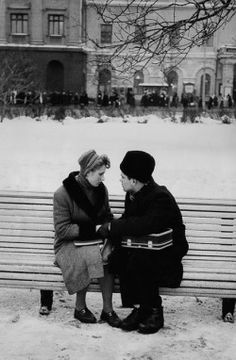 Moscow, USSR, 1960. Photos by Marc Riboud