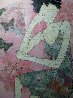 Reflections - Art by Kim Wilkowich