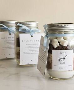 #DIY Wedding Favors Labels