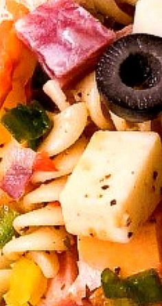 Great Salad Recipes, Salad Ideas, Lunch Recipes, Pasta Recipes, Soup Recipes, Muffuletta Recipe, Muffuletta Sandwich, Easy Pasta Salad, Easy Salads