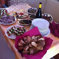 Our Buffet on board