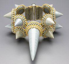 Shark Fin Bracelet - LAURA McCABE $ 1,800.00 Artist/Designer/Brand: Laura McCabe