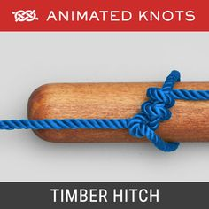 """Described by Ashley as much used for handling cargo """". for which it is very convenient, as it practically falls apart when pull ceases. Animated Knots, Scout Knots, Fishing Hook Knots, Reef Knot, Survival Knots, Best Knots, Knots Guide, Decorative Knots, Overhand Knot"""