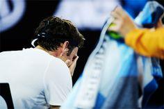 """ Roger Federer winning his 20th Grand Slam and 6th Australian Open title during the 2018 Australian Open on January 28, 2018 """