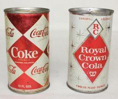 Cola Coke-RC Royal Crown