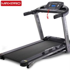 MAXPRO HP Peak) Folding Treadmill, Electric Motorized Power Fitness Running Machine with LCD Display and Mobile Phone Holder Perfect for Home Use(Free Installation & Demo) Folding Treadmill, Running Machines, Physical Condition, Intense Workout, Electric Motor, Phone Holder, Display, Cardiovascular Fitness, Fitness Online