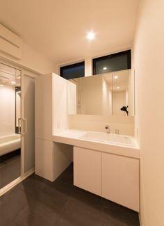 ブルックリンハウスの浴室・洗面所1