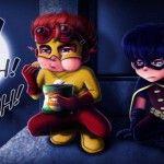 Ilustrações dos pequenos grandes heróis (e vilões) via @comunicadores
