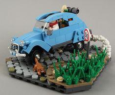 Citroën 2CV Sahara 4x4 by Lego
