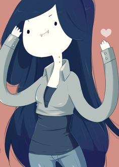 Marceline Time by SweetSasa.deviantart.com
