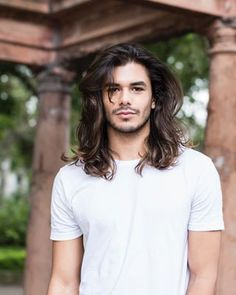 52 Gorgeous Hairstyles for Men With Long Curly Hair - Hair Design Hot Hair Styles, Hair And Beard Styles, Curly Hair Styles, Long Hair Cuts, Long Hair Man, Long Curly Hair Men, My Hairstyle, Great Hair, Haircuts For Men