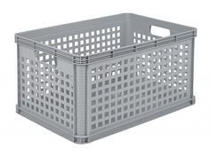 64 Litre Perforated Euro Plastic Robusto Storage Container