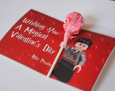Lego valentines from Boy Trifecta