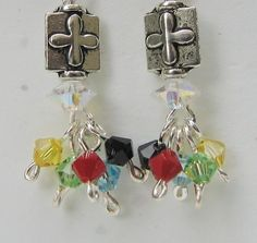 Salvation Earrings 7 by AudreyGardenLady on Etsy, $15.00