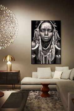 Museum Print under Acrylic Glass / Mario Gerth Photography African Interior Design, African Design, African Art, African Living Rooms, African Themed Living Room, Ethno Design, African Home Decor, Beautiful Houses Interior, Alexandria