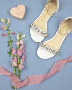 e3eeb31b110 Beautiful wedding shoes for every bride •Wedding flats •Wedding Shoes flat •Comfortable  wedding