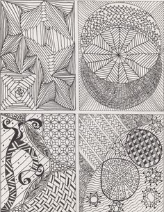 Zentangle 1 - art - my creations -