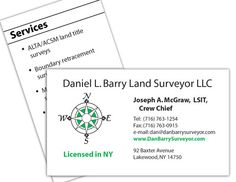 Land surveyor business card design branding pinterest land land surveyor branding and web project reheart Image collections