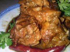 Cooking Pleasure: Pork - stew pork rib with black bean paste