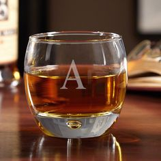 aac9fe8fe35c Uptown Personalized Whiskey Glass (Clear S) Glass Fit