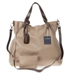 Arcadia Italian Made Natural Taupe Leather Oversized Designer Tote Bag Pouch - love this bag Arcadia Handbags, Arcadia Bags, Best Handbags, Tote Handbags, Pouch Bag, Tote Bag, Designer Totes, Large Tote, Travel Bags
