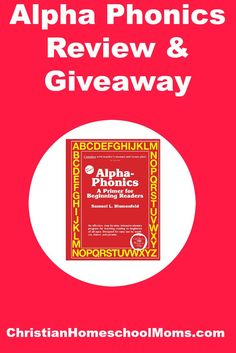 alpha phonics review and giveaway