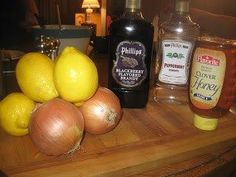 Homemade Cough Syrup Amish recipe  http://homesteadsurvival.blogspot.com/2013/01/homemade-cough-syrup-amish-recipe.html
