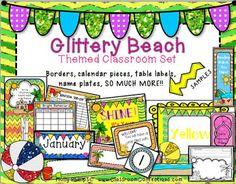 Beach Themed Classroom Decorations
