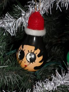 Betty Boop, I made one like this that was the Grinch