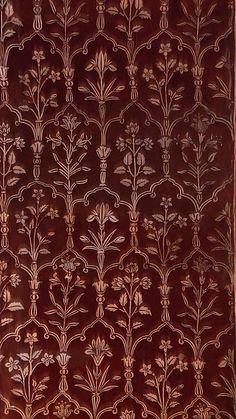 Roof of Naqqar Khana, Taj Mahal early morning. Textile Patterns, Textile Design, Print Patterns, Textiles, India Pattern, Pattern Art, Pattern Design, Of Wallpaper, Pattern Wallpaper