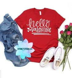 Womens Valentine Shirts, Valentines Day Shirts, Cute Graphic Tees, Plus Size Shirts, Cute Designs, Screen Printing, My Etsy Shop, Super Cute, Graphic Sweatshirt