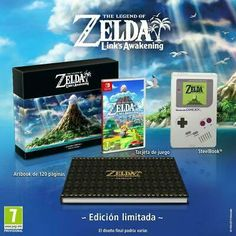 The Legend of Zelda: Link's Awakening Limited Edition Nintendo Switch - Frugal Gaming The Legend Of Zelda, Game Boy, Nintendo Switch Zelda, Nintendo Switch Games, Super Mario Party, Edition Collector, The Collector, Video Game Names, Video Games
