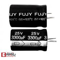 خازن الکترولیتی 3300 میکروفاراد 25 ولت FUJY