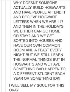 SOMEBODY NEEDS TO DO THIS