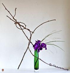Se in Occidente molta importanza viene data alla bellezza dei fiori in sboccio, nell'Ikebana l'importanza ricade su tutta intera la linea della composizione...