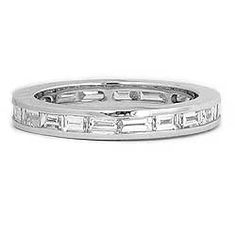 Diamond Baguette Eternity Wedding Band