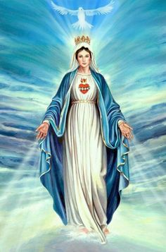 Mary, mother of God.