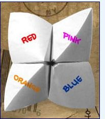 How to make a Cootie Catcher! So 80's ;-)